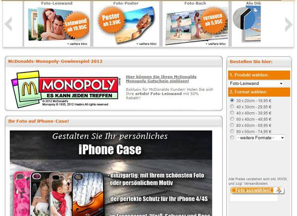 artido Homepage