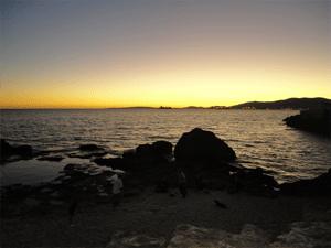 Mollorca Sonnenuntergang