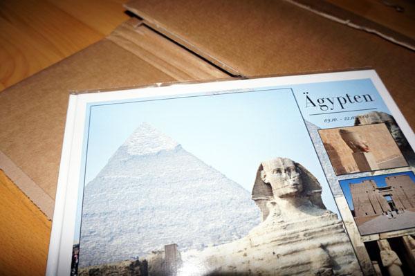 Fambooks Verpackung und Fotobuch in Schutzfolie