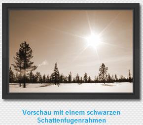 HalloLeinwand - Vorschau Schattenfugenrahmen