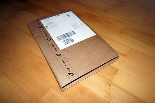 Verpackung Fotobuch
