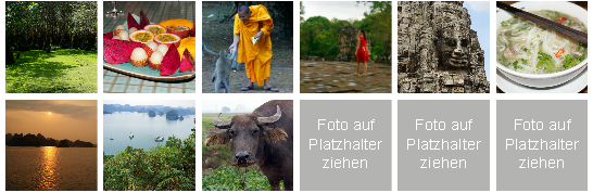fotopuzzle.de - Auswahl Fotos für Foto-Memo