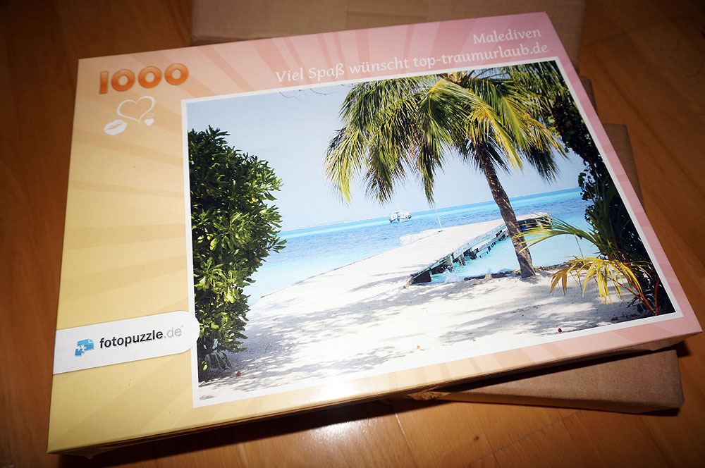 Fotopuzzle Malediven