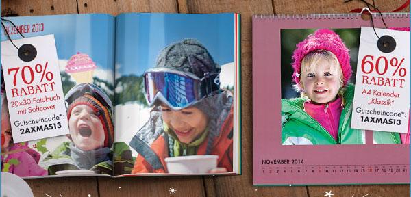 Snapfish Gutscheine Fotobücher und Kalender