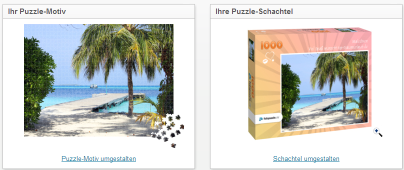 fotopuzzle.de - Motiv und Schachtel